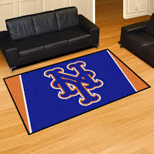 Area Rugs Nyc York Mets Area Rug 5 X 8