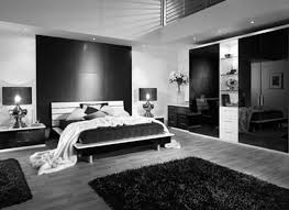 Black And White Modern Rug by Bedroom Wonderful Black And White Bedrooms Furnishing Themes With