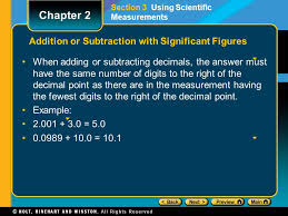 chapter 2 significant calculations and scientific notation ppt