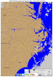 Virginia Flood Map by Hurricane Matthew Heavy Rainfall And Flooding Across The