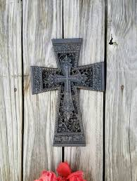 Decorative Wooden Crosses For Wall Wall Cross Cast Iron Cross Celtic Decorative Cross Wall