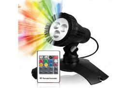 Remote Controlled Lights Submersible Color Changing Led Pond And Waterfall Light With Remote