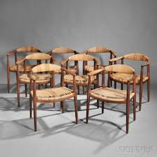 Round Armchairs Search All Lots Skinner Auctioneers