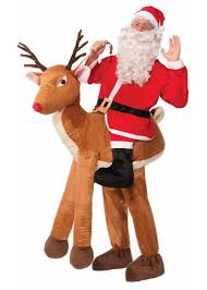 santa claus business suit costume christmas costumes