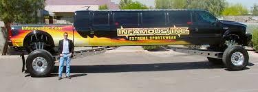 monster truck limousine ace party bus los angeles