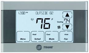 trane xl624 tcont624 programmable nexia thermostat