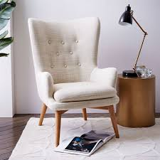 High Back Wing Chairs For Living Room Chair For Living Room Fascinating High Back Living Room Chairs