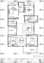Floor Plan For A House Civil Engineering House Plans Escortsea