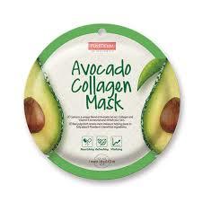 Collagen Mask purederm avocado collagen mask