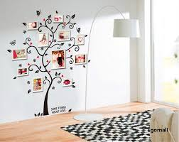 home decor 3d stickers tree photo frame diy 3d vinyl wall stickers home decor design living