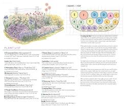 bhg com beginning full sun garden plan with pictures and details