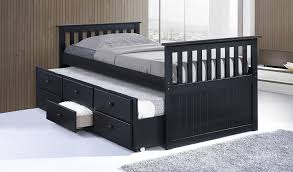trundle bed for girls bedroom boys twin trundle bed captain beds with trundle