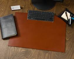 Leather Desk Mat by My Desk Pads Are Cut From A Single Piece Of 8 9 Oz Full Grain