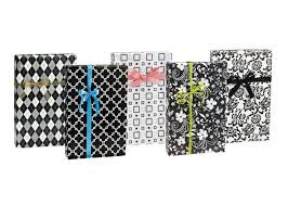black and white gift wrap black white wrapping paper bags bows