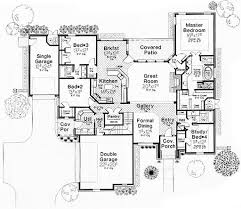 european style house plan 4 beds 3 00 baths 2659 sq ft plan 310 267