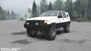 jeep mud jeep grand cherokee zj spintires mudrunner