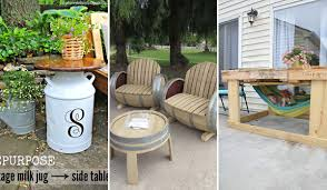 porch furniture ideas 37 ingenious diy backyard furniture ideas everyone can make