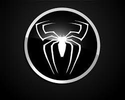 spiderman black suit logo