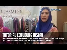 tutorial hijab turban ala april jasmine tutorial kerudung instan ala april jasmine youtube