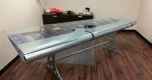 Airplane Wing Coffee Table by Airplane Style Furniture Aviation Flying Furniture