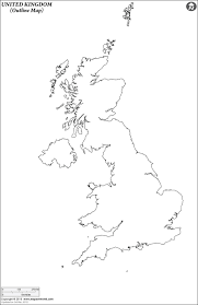 Map Of The British Isles Outline Map Of United Kingdom Geography Pinterest