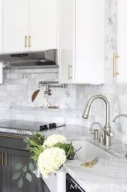 kitchen cabinet sink faucets how to match cabinet hardware with kitchen decor