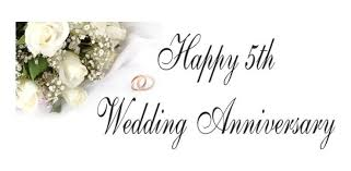 year wedding anniversary 5th year marriage anniversary wishes quotes images messages
