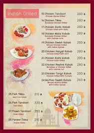 indian cuisine menu indian food 17 ถนนเจร ญนคร home