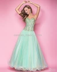 blush prom dresses 5213 corset mint yellow beaded spaghetti full