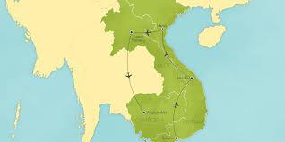 Map Of Cambodia Cambodia Vietnam U0026 Laos Saigon Hoi An Hanoi Luang Prabang