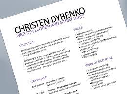 simple resume layout resume unique