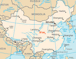 map of xi an xi an map