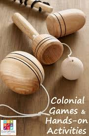 colonial games and hands on activities for middle