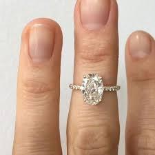 oval engagement rings gold brilliant 14k gold engagement ring forever classic moissanite