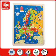 Europe Map Games by Detailed Europe Map Wooden Jigsaw Puzzle With Kinds Of Graphics