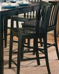 Counter Height Chairs With Back Counter Height Slat Back Chair Pines Co 101039 Set Of 2