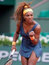 Serena Williams Bench Press Serena Federer Roll On Opening Day At French Open