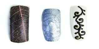 embossing technique creates unique edges style nails magazine