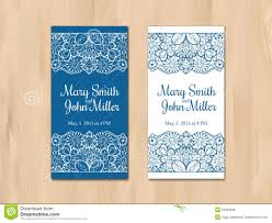 Marriage Invitation Card Templates Free Download Wedding Invitation Card Template Stock Vector Image 53453338