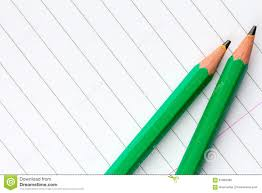 writing on lined paper green pencils on lined paper stock photo image 67889482 lined paper