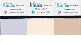 elastahyde 720 elastomeric acrylic roof coating specify color 55g
