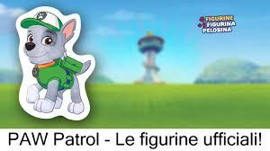 paw patrol le figurine ufficiali