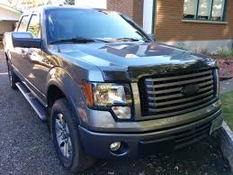 Old Ford Truck Colors - dipped f150 badges then color matched