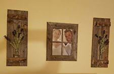 Barnwood Wall Shelves Wooden Western Wall Shelves Ebay