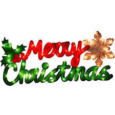 walmart time lighted merry sign chri