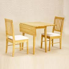 folding breakfast table small dining table set for 2