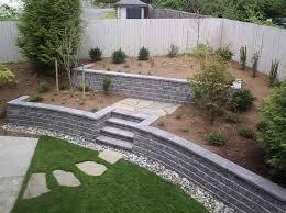 great block garden wall 17 best ideas about cinder block walls on