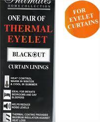 Eyelet Curtains 90 X 72 90 X 90 Pair Of Ready Made Thermal Eyelet Curtain Linings