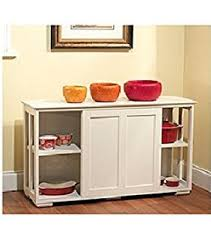 amazon com tms pacific stackable storage with glass door antique
