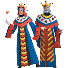 King Queen Halloween Costumes Playing Cards King Queen Bridalguide